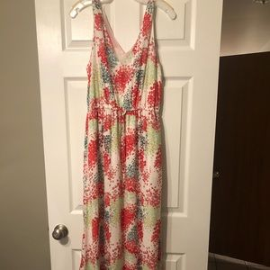 Lucky brand maxi dress, size small worn once